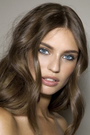Dark ash brown hair color for olive skin