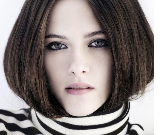 Dark ash brown hair color ideas for brunettes - pictures Kristen Stewart