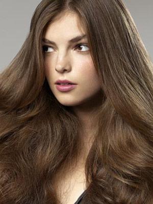 Darkest ash brown hair