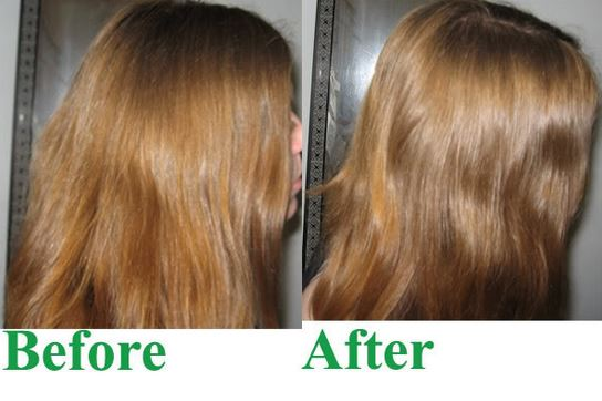 Before and after pictures for honey hair bleaching
