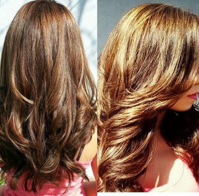 Honey and hair lightening