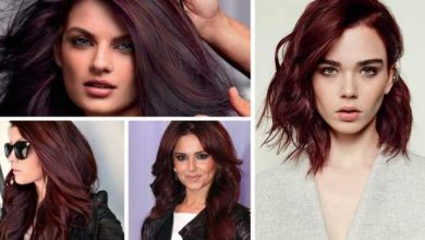 Photo of Cherry Cola Hair Color, Highlights, Ideas & Pictures