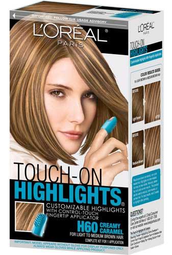 Hazelnut hair with highlights