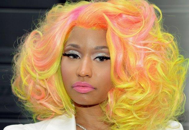 Niki minaj neon hair