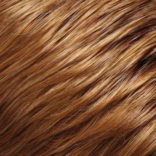Dark caramel blonde color