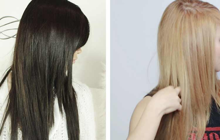 Before and after pictures peroxide hair