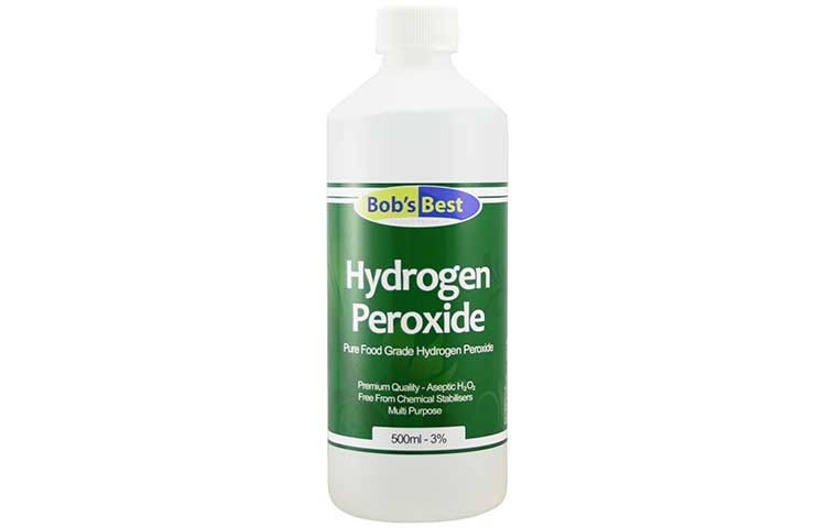 What does hydrogen peroxide do for your hair? How it works