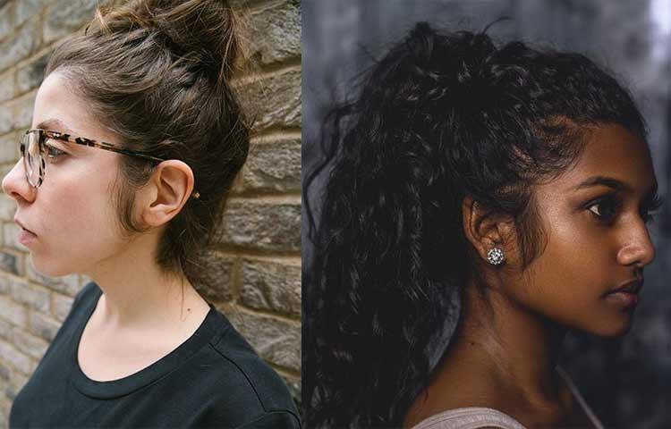 Female sideburns Photos