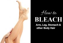Photo of How to Bleach Arm, Leg and Stomach Hair