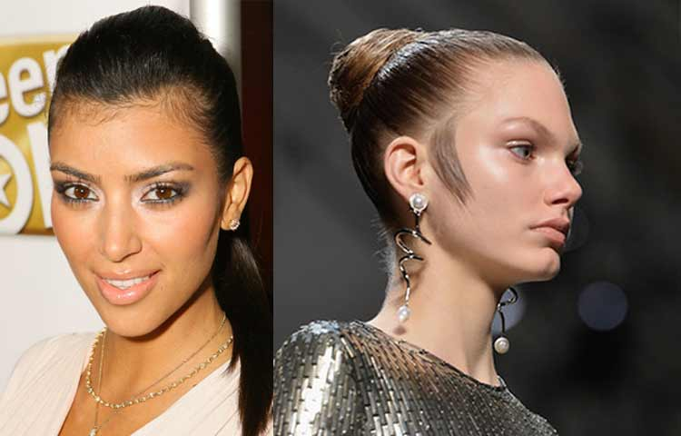 Female celebrities with sideburns