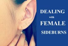 Photo of Dealing with Female Sideburns