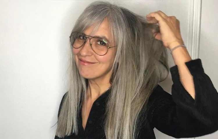 lighten gray hair