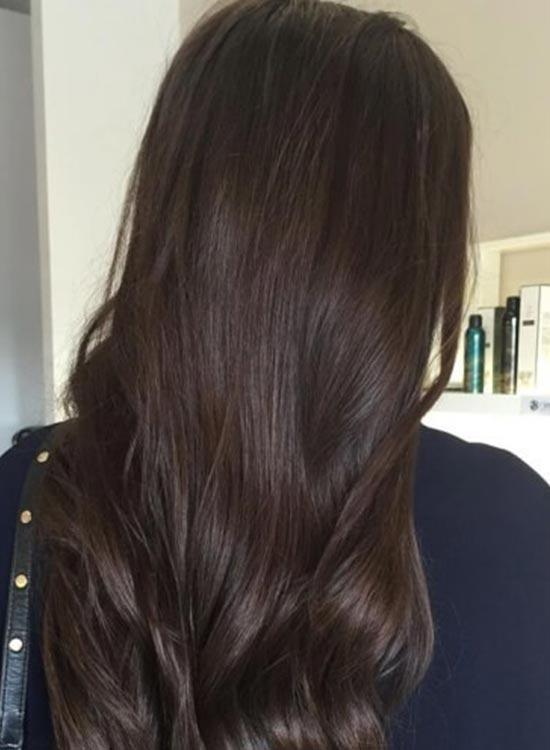 Dark Mocha chocolate hair