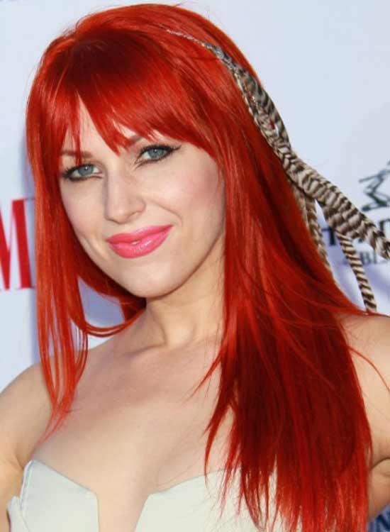 Ginger red Hair