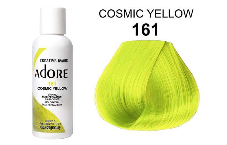 Adore temporary yellow hair dye color