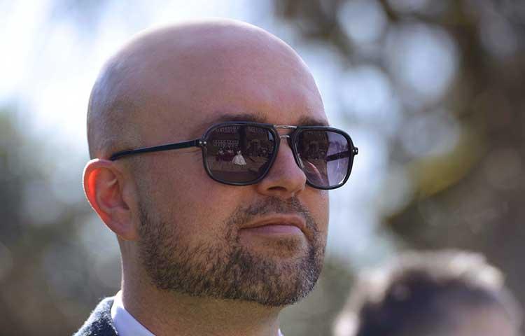 Bald Shave for square-face men