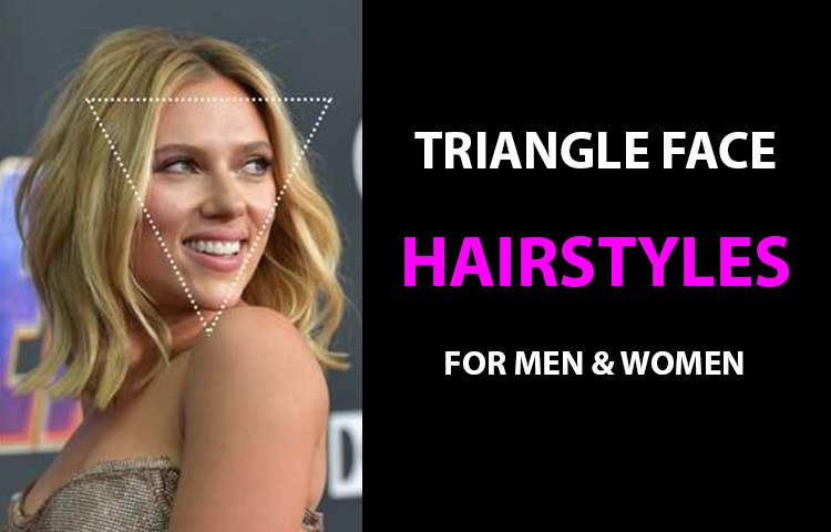 Triangle Face Shape Hairstyles For Male Amp Female Hairsentry