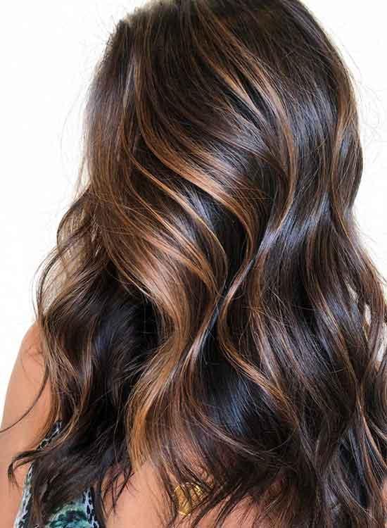 Caramel Mocha Hair color