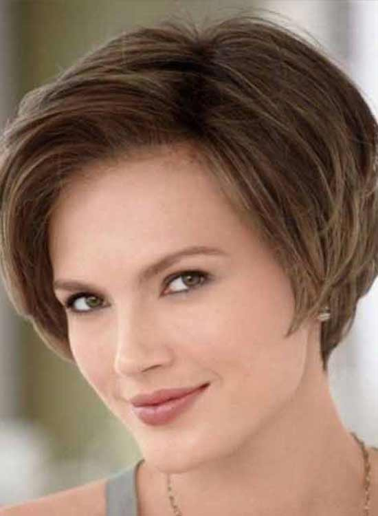 Hairstyle for square face women over 50