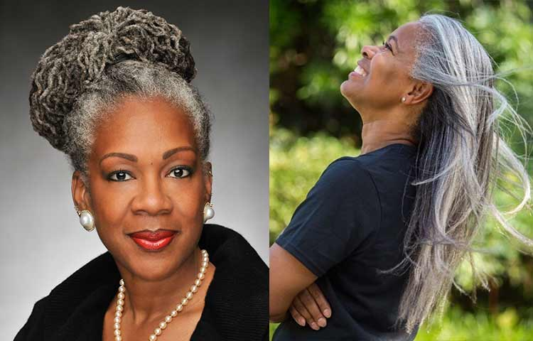Covering grey hair for African-American