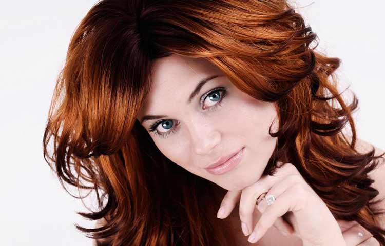 Dark Ginger Hair color