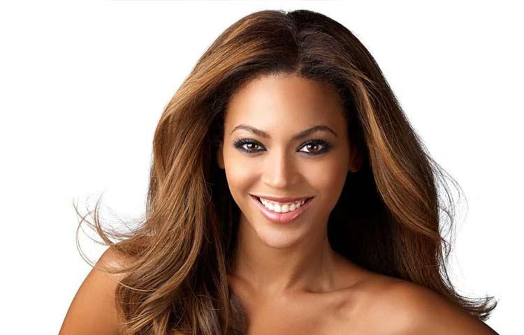 Golden brown hair for brown-eyed tan skin