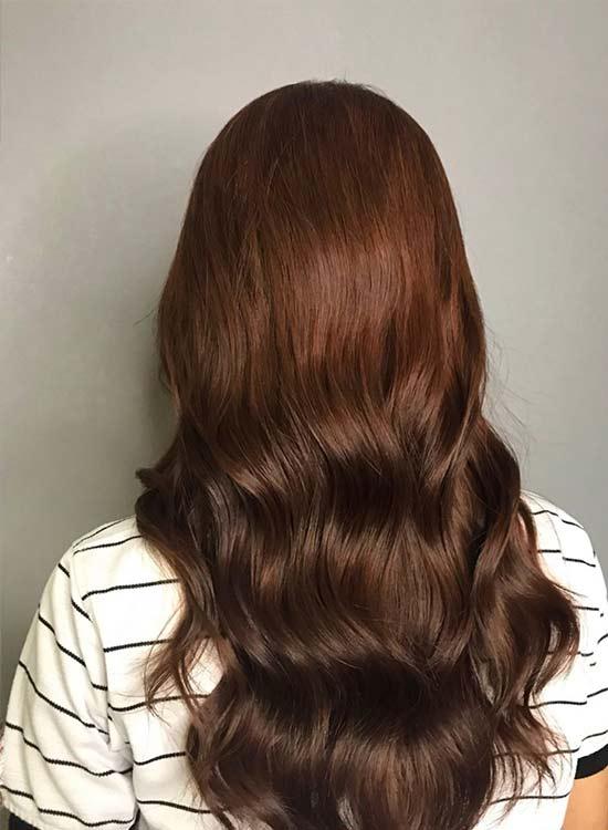 Hazelnut brown hair color ideas
