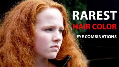 Photo of Rarest Hair Color and Eye Color Combinations + Statistics