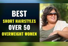 Photo of Short Hairstyles for Women Over 50 and Overweight, with Fat and Chubby Faces