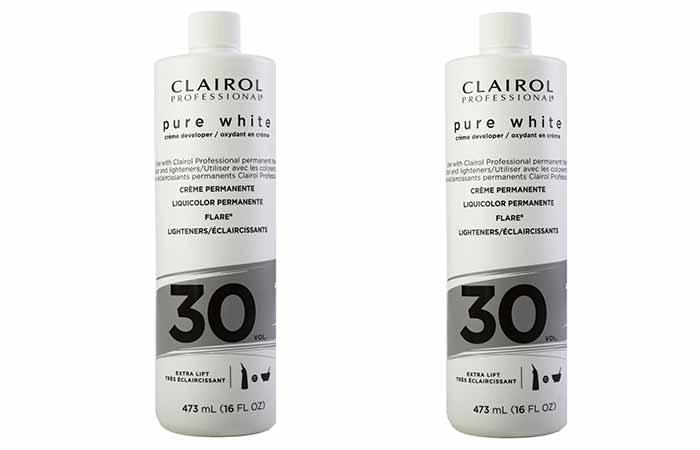 Clairol Hair developer